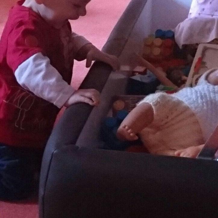 #12von12 #8von12 Omas Spielsachen Baby Spielzeug