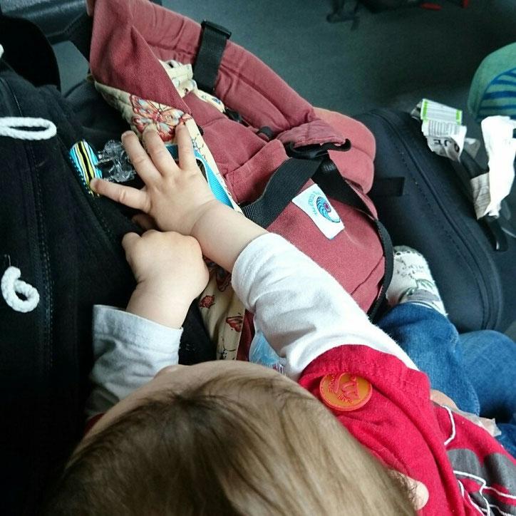 #12von12 #2von12 Bahnfahrt mit Baby Gepäck