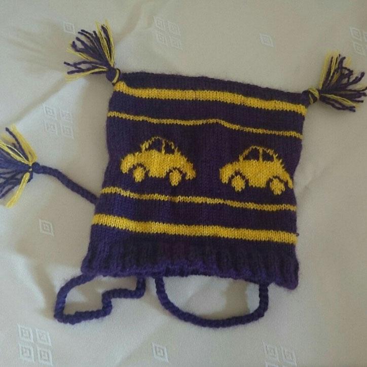 #12von12 #10von12 Babymütze gestrickt mit Autos
