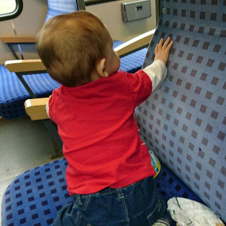 #12von12 #3von12 Bahnfahrt mit Baby