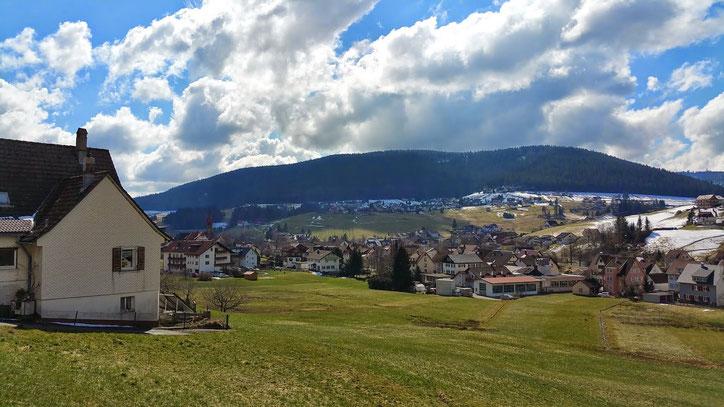 "Типичная деревня в ""Черном лесу"" — Шварцвальде (Schwarzwald)"