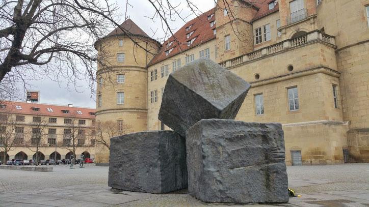 Многотонные камни символизируют нелёгкую немецкую историю