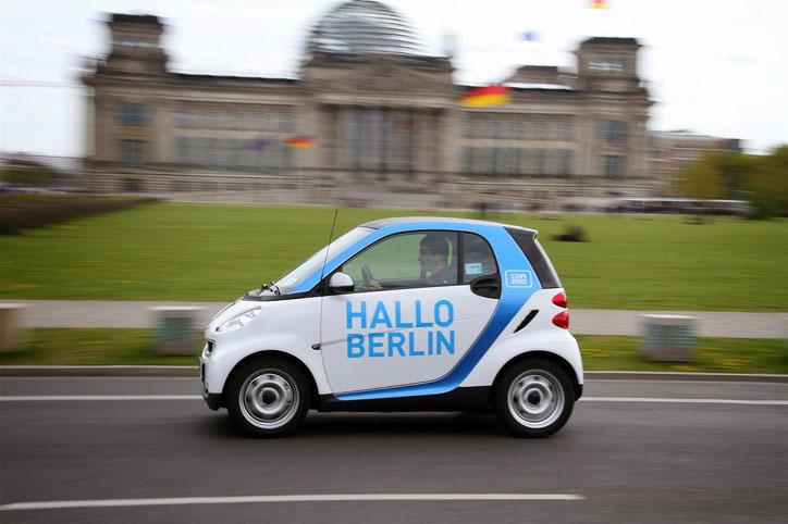 Сервис каршеринга Car2Go продвигает идею мини-автомобилей в массы