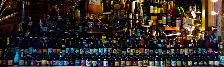 Выбор пива в бельгийском баре