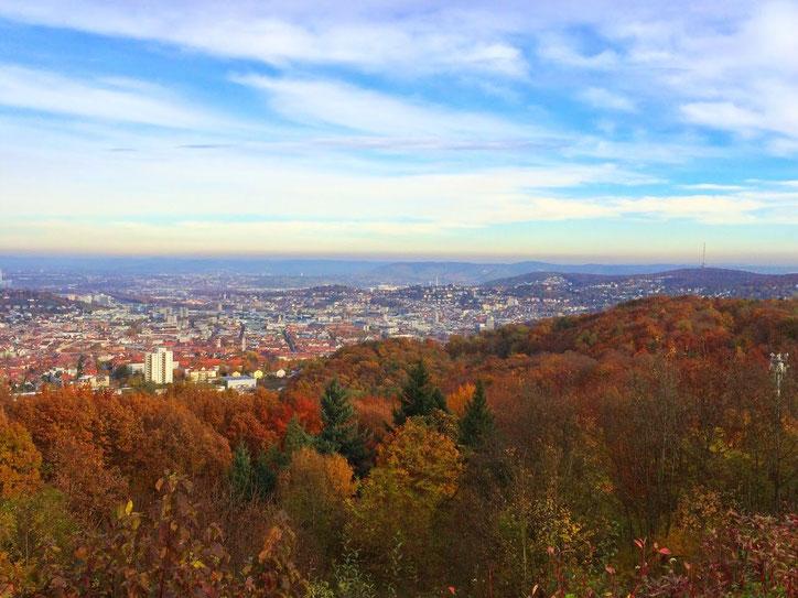 Осень в Штутгарте не отличается от осени в средней полосе России