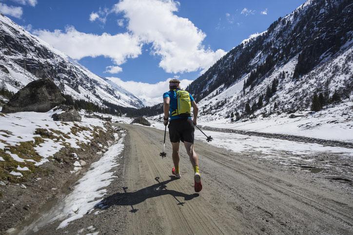 Berglauf Foto skitourenwinter.com - Heiko Mandl