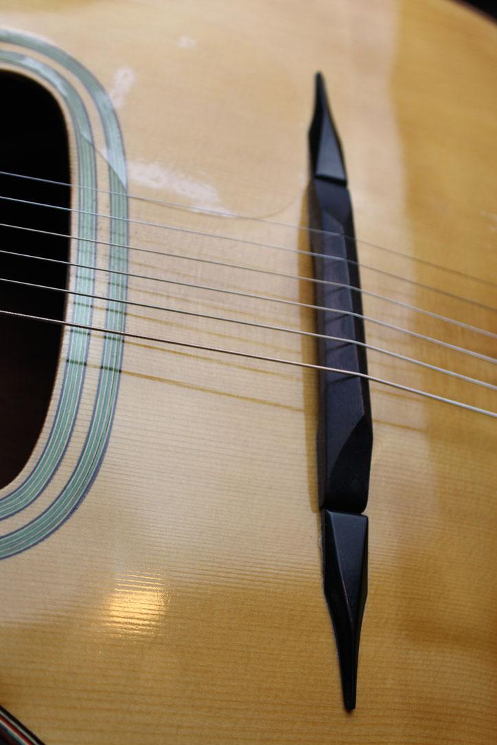 Luthier Luigi Bariselli gypsy jazz