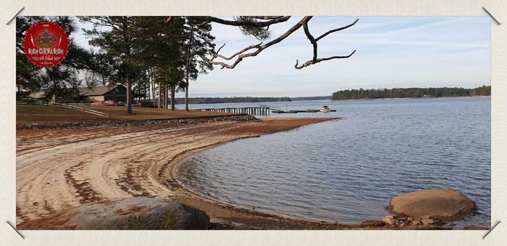 Lake Martin, ein Ort der Stille und Einsamkeit