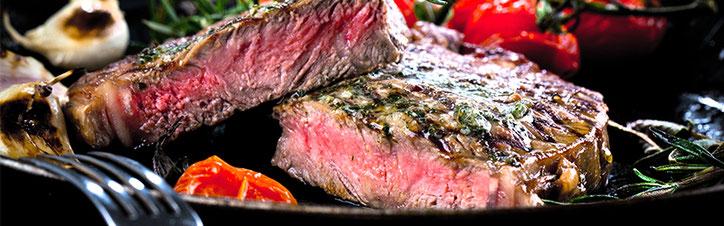 Steak, Fleisch, Wurst von der Metzgerei Fuß