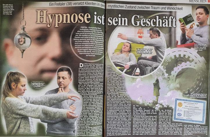 Hypnose Dresden - Enrico Gühne Spezialist für das Lösen emotionaler Blockaden