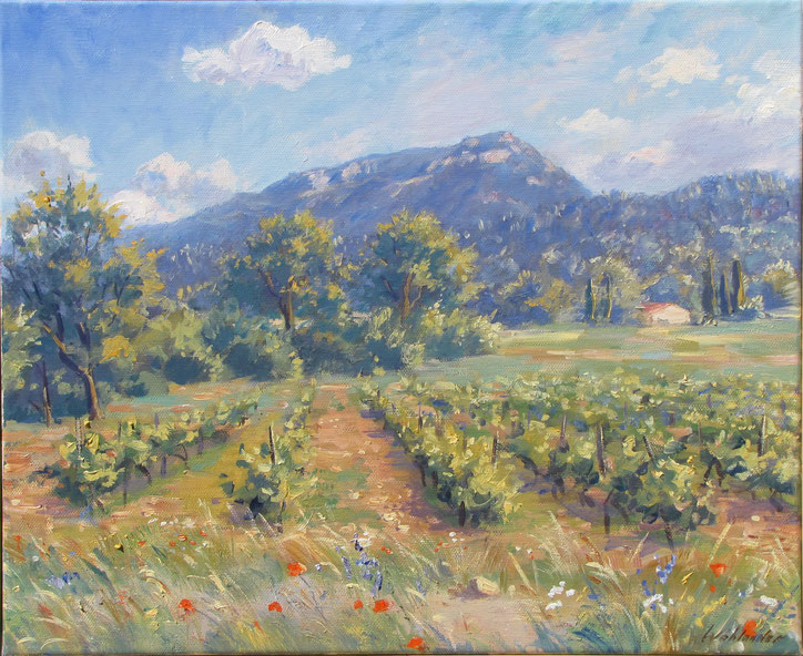 Tony Wahlander (Tony Wåhlander) artiste peintre en Provence
