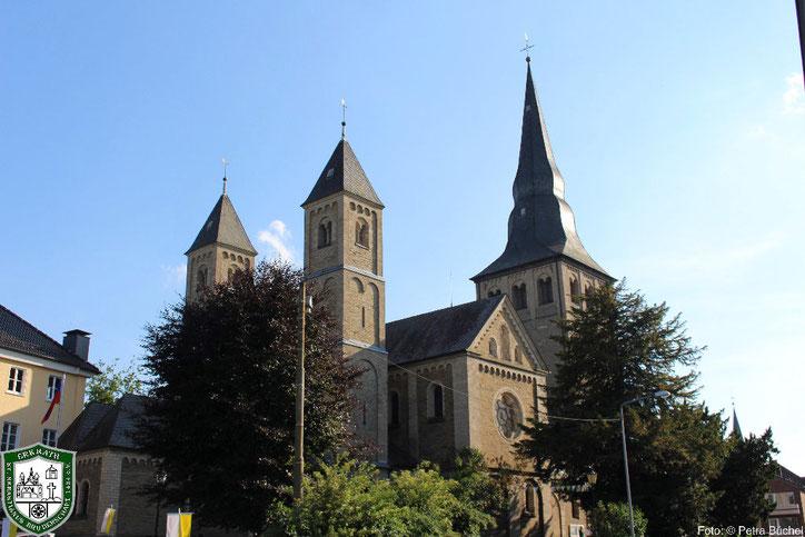 Pfarrkirche St. Johannes der Täufer. Bild: Petra Büchel