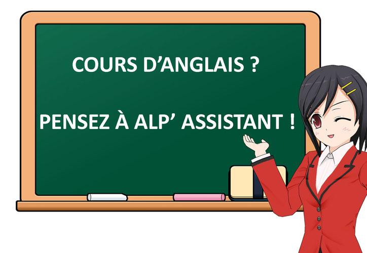 Cours anglais avec Alp' Assistant