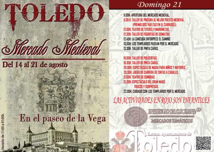 Programa del Mercado Medieval de Toledo