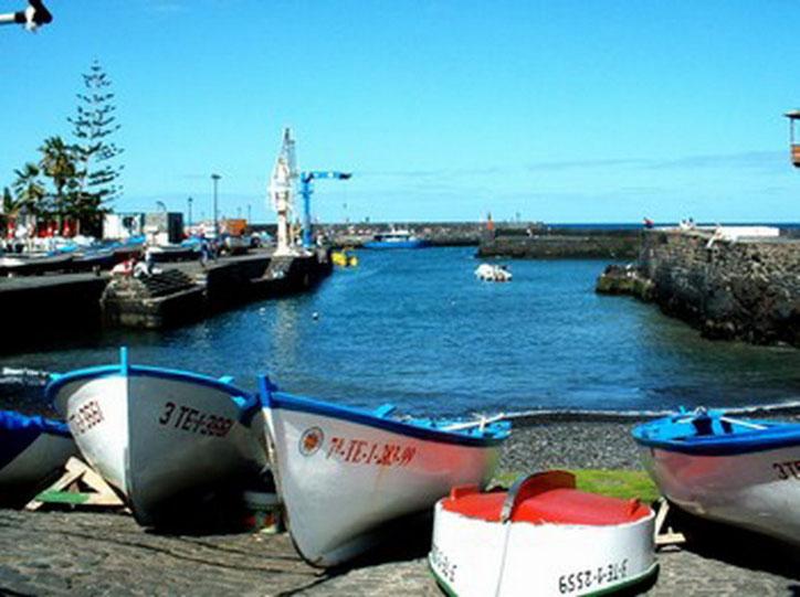 Hafen von Puerto de la Cruz