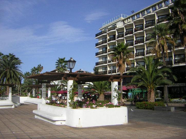 Fußgängerzone  Puerto de la Cruz