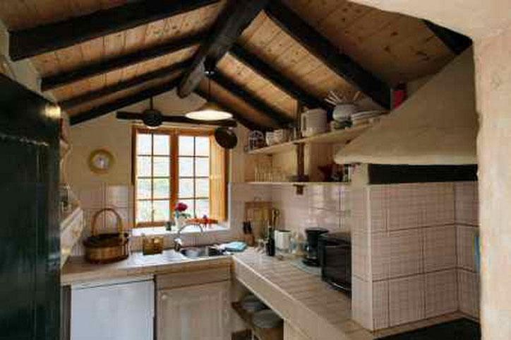 Voll ausgestattete Küche des Ferienhauses in Guia de Isora mit Pool auf tenerife