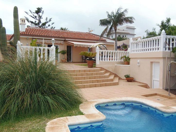 Bild: Urlaubsvilla mit Garten und Pool in Icod auf Teneriffa