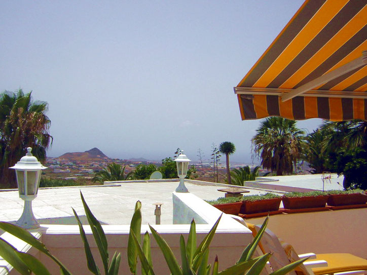Meerblick von der Villa