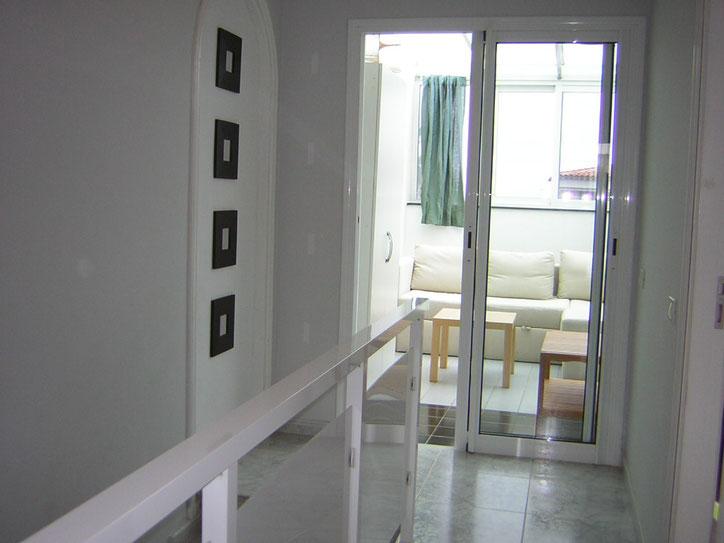 Obergeschoss mit Bad, Wintergarten und Schlafzimmer