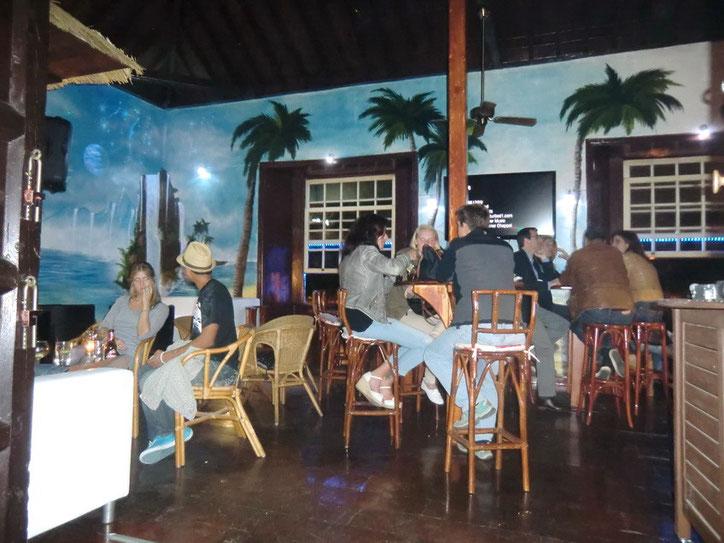 Cocktailbar mit Kuschelecke