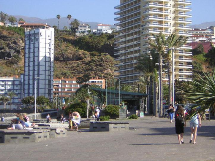 Promenade Puerto de la Cruz