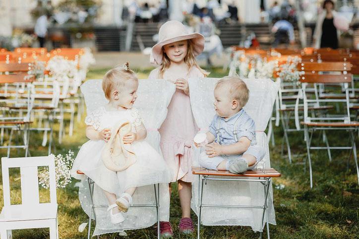 Kinder bei einer Hochzeit STeinhöfel