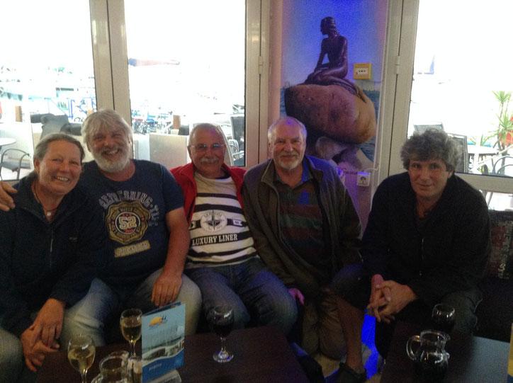 Wiedersehen im Marina Cafe in Messolonghi