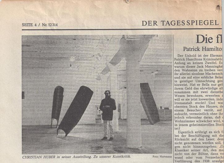 Der Tagesspiegel Berlin Feuilleton Seite 4 Heinz Ohff 1986