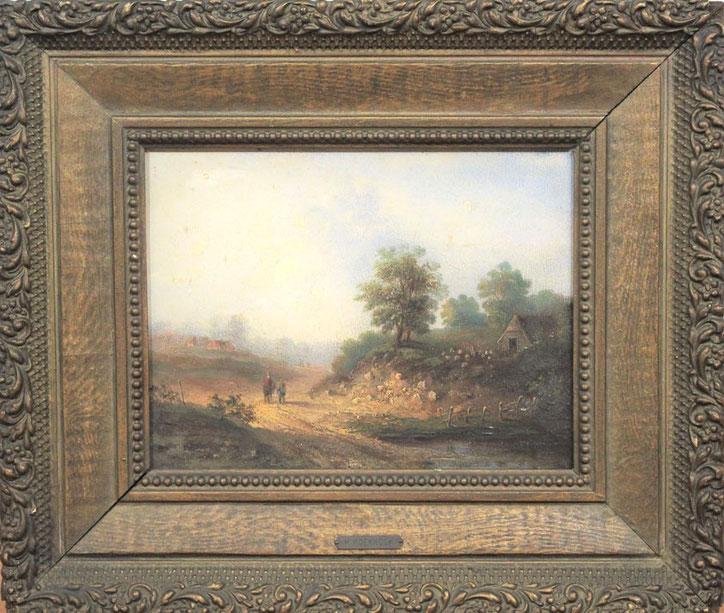 te_koop_aangeboden_een_landschaps_schilderij_van_de_nederlandse_kunstschilder_hermanus_koekkoek_1815-1882