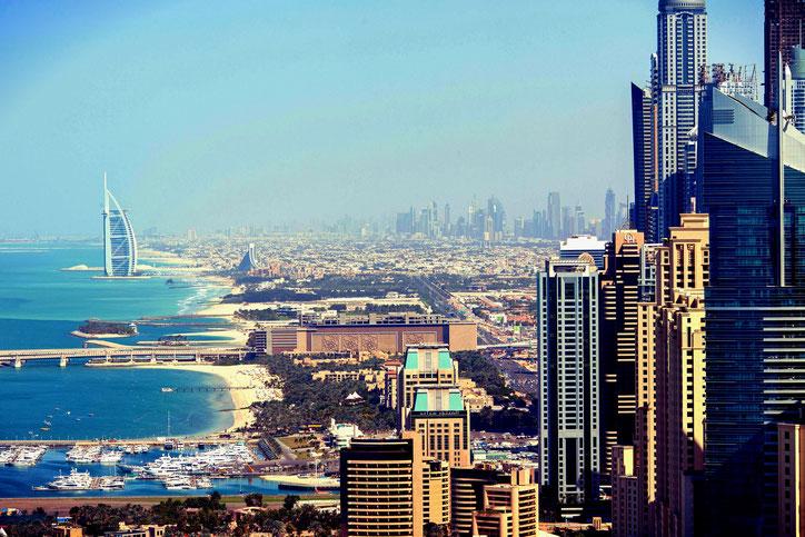 Dubai Skyline VAE