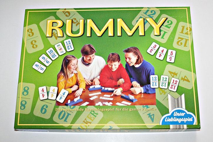 Das beliebte Kartenlegespiel Rummy von Unser Lielingsspiel