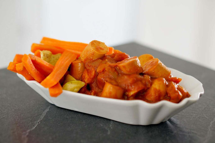 Low carb Currywurst | clean & gesund