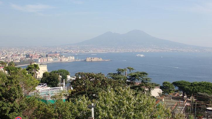 Blick auf Neapel von Posillipo