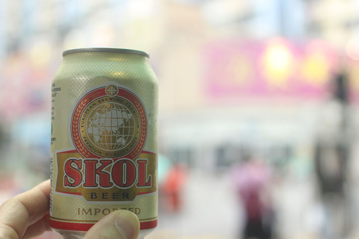 香港SKOLビール