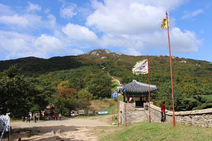 金井山北門