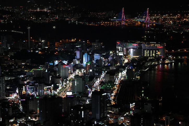釜山天馬山夜景