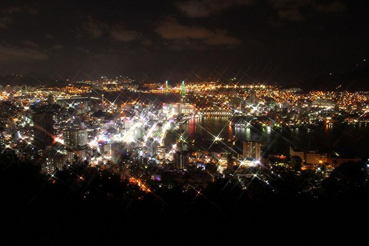 天馬山釜山夜景