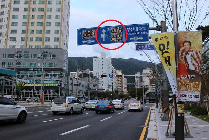 金井山経路