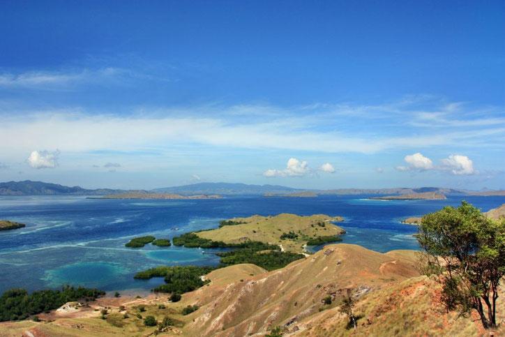Der höchste Punkt der Insel ist fast erreicht.