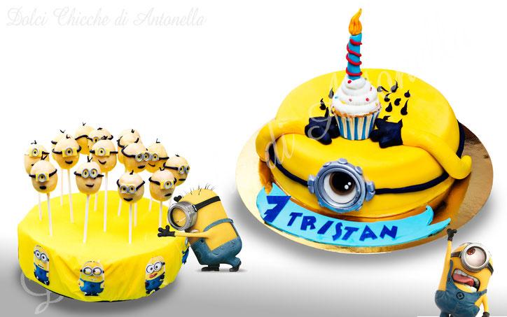 minions -torte-la spezia-cake design-liguria