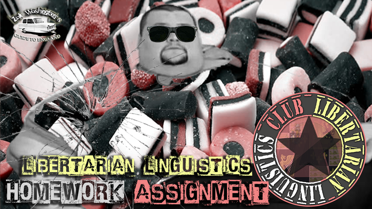 Very fat liquorice allsorts man from ZakWashington English lesson