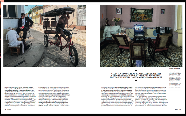 Savana Club: Cuba After Fidel on Riders Magazine #88