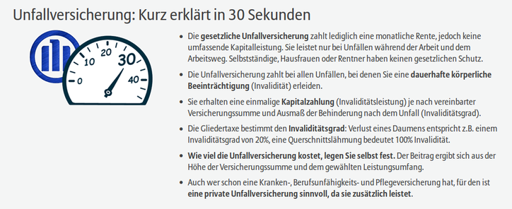 Screenshot https://www.allianz.de/vorsorge/unfallversicherung/