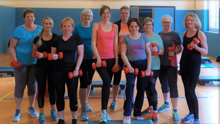 LSV Langenberg Falken - Muskelmix - Fitness