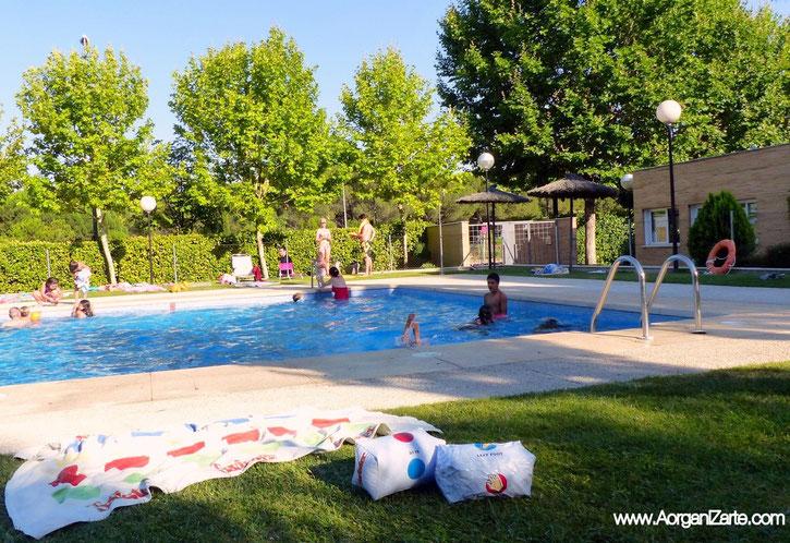 Organízate para ir a la piscina - www.AorganiZarte.com