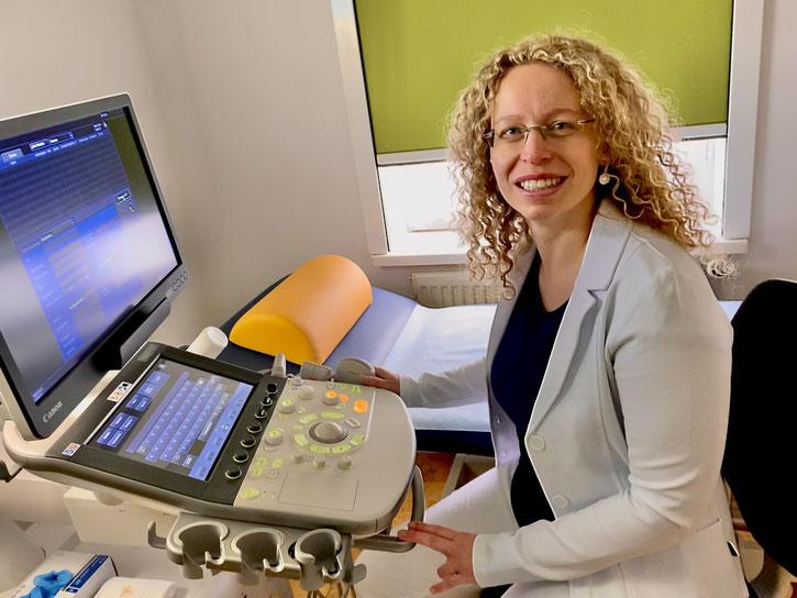Dr. med. Mandy Glückermann; FÄ für Innere Medizin/Hausärztin
