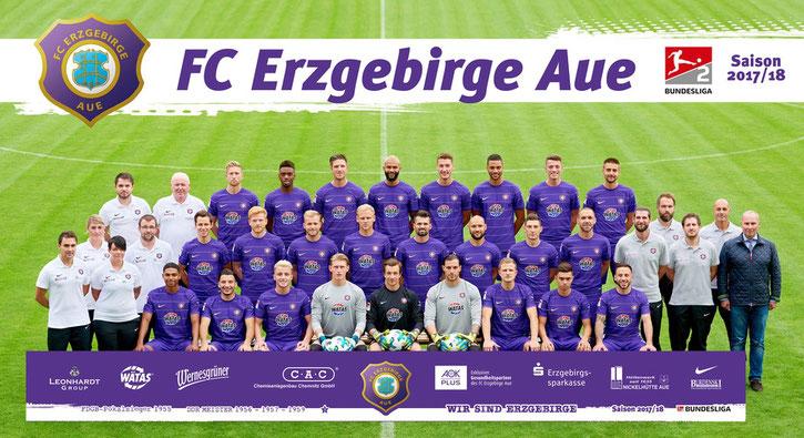 FC ERZGEBIRGE AUE Team