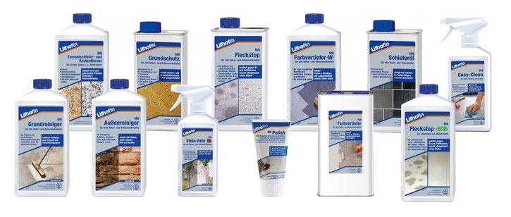 Produktreihe Lithofin MN für Naturstein