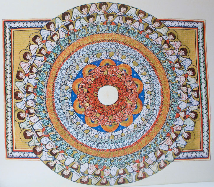 Praise of the angels - Hildegard of Bingen, Sciviascodex